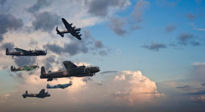 formazione-di-volo-britannica-dell-annata-della-seconda-guerra-mondiale-20965486
